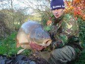 Mike with 'Nick' at 39lb 10ozs way back in 2006