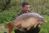 James Coleman with 'Nick' at 44lb 8oz