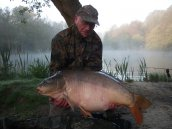 Dave the Bailiff with an early morning monster!