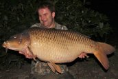 Dave with 'Lee Jackson' at 57lb 4ozs - The biggest day ticket common.