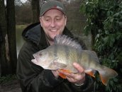 James Smith with a Perch, we also have these and they are HUGE
