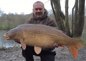 Brian from SPOMB with a mint 33lb'er