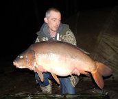 Chris Taylor with the one and only Nick @ 47lb