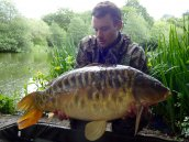 James Carr 23 lbs mirror