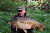 John Bartley with a stunning 21lb Linear