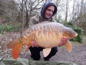 Rob Young with 23lb 6oz of Scaley One