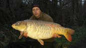 Tony Cole with an awesome 37lb Ghostie
