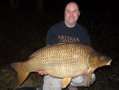 Stuart Mullin with the 'Mighty' WART at 55lb 12oz's